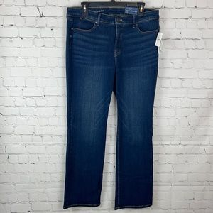 Talbots High-Rise Barely Boot Jeans NWT Petite